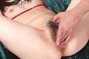 Asuka Mimi's hairy pussy asian squirting Photo 10