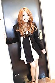 Yuna Hirose - ยูนะ ฮิโรเสะ ได้รับระยำและครีมหนัก หี -  1 รูปภาพ