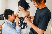 Premium Japanese gangbang along Rei Asamiya  Photo 1