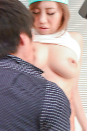 Kaede Yuki - Asian girl blowjob by nasty hottie Kaede Yuki  - Picture 8