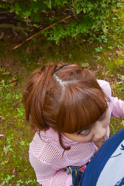 Anna Anjo - Sexy Anna Anjo gives Japanese blowjob in outdoor  - Picture 12