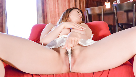 Suzuna Komiya - Japanese milf shows off in sexy webcam solo  - Picture 4