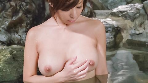 秋野千尋 - 温泉オナニーソフトコア~秋野千尋 - Picture 10