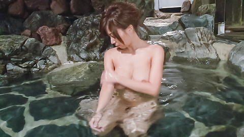 Chihiro Akino - Asian amatuer porn solo with a big tits beauty - Picture 2