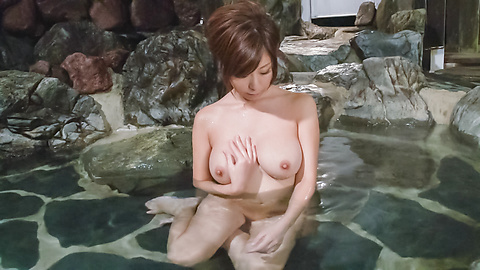 Chihiro Akino - Asian amatuer porn solo with a big tits beauty  - Picture 4