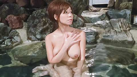 Chihiro Akino - Asian amatuer porn solo with a big tits beauty - Picture 6