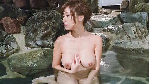 秋野千尋 - 温泉オナニーソフトコア~秋野千尋 - Picture 7