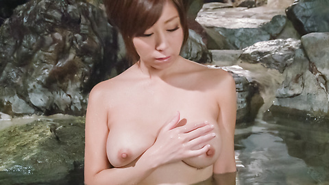 Chihiro Akino - Asian amatuer porn solo with a big tits beauty - Picture 9