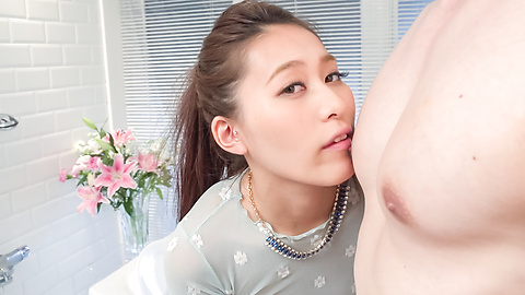 Aoi Mizuno - Gorgeous Asian blow job by insolent Aoi Mizuno - Picture 10
