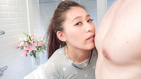 Aoi Mizuno - Gorgeous Asian blow job by insolentAoi Mizuno - Picture 10
