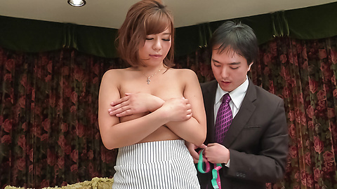 Sara Saijo - Curvy ass Sara Saijo mind blowing scenes of Asian blow job  - Picture 6