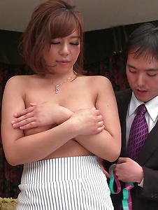 Sara Saijo - Curvy ass Sara Saijo mind blowing scenes of Asian blow job  - Screenshot 10