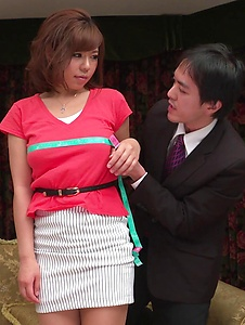 Sara Saijo - Curvy ass Sara Saijo mind blowing scenes of Asian blow job  - Screenshot 3