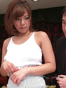 Sara Saijo - Curvy ass Sara Saijo mind blowing scenes of Asian blow job  - Screenshot 6