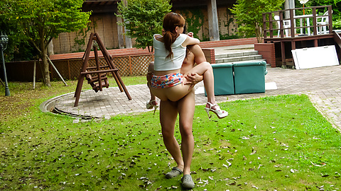 Aya Mikami - Crazy outdoor porn play with insolent Aya Mikami - Picture 6