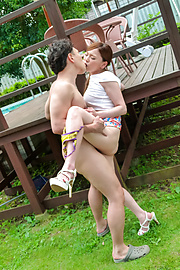 Aya Mikami - Crazy outdoor porn play with insolent Aya Mikami - Picture 7