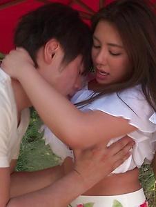 Mei Matsumoto - Mei Matsumoto mind blowing Asian blowjob with sex - Screenshot 2