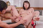 Nao Mizuki fucked and made to swallow in threesome  Photo 6