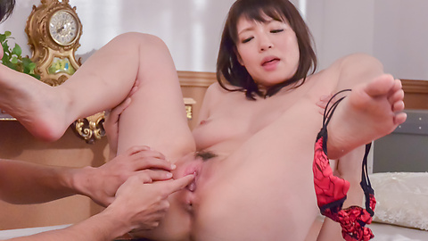 Nao Mizuki - Nao Mizuki smashed by two horny lads in threesome  - Picture 8