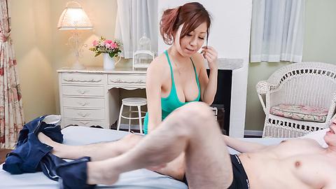 Chihiro Akino - Japanese blojob in amazing modes by Chihiro Akino - Picture 9