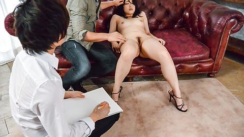 Runa Mizuki - Stunning Asian blowjobs by amazing Runa Mizuki - Picture 1