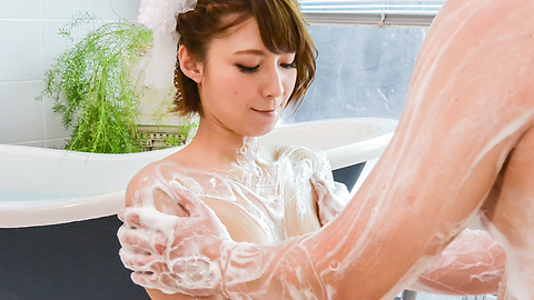 Risa Mizuki - Asian girl blowjob in superb Japanese POV  - Picture 11