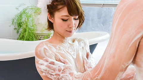Risa Mizuki - Asian girl blowjob in superb Japanese POV  - Picture 12