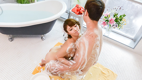 Risa Mizuki - Asian girl blowjob in superb Japanese POV  - Picture 1