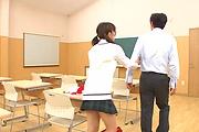 ASian schoolgirl hardcore sex in class with her teacher  Photo 10
