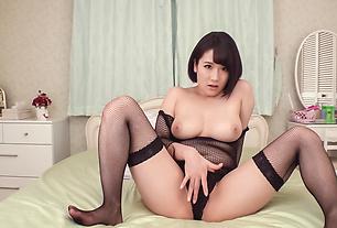 Harua Narimiya top class Asian lingerie solo