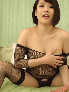 Harua Narimiya - Passionate solo scenes with amazing woman Harua Narimiya - Screenshot 10