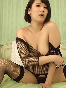 Harua Narimiya - Passionate solo scenes with amazing woman Harua Narimiya - Screenshot 9