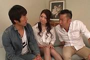 Smashing Asian gangbangn  with sexy Ryo Makoto Photo 9