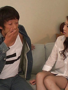 Ryo Makoto - Sexy is in for a special Asian threesome porn  - Screenshot 11