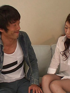 Ryo Makoto - Sexy is in for a special Asian threesome porn  - Screenshot 12