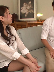 Ryo Makoto - Sexy is in for a special Asian threesome porn  - Screenshot 1