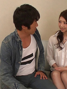 Ryo Makoto - Sexy is in for a special Asian threesome porn  - Screenshot 7