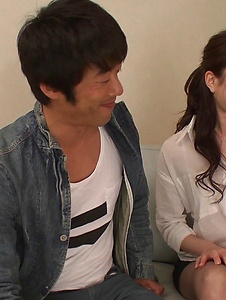 Ryo Makoto - Sexy is in for a special Asian threesome porn  - Screenshot 8