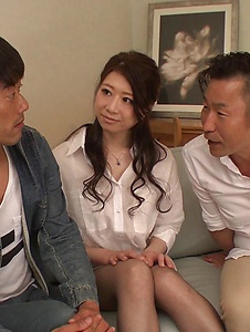 Ryo Makoto - Sexy is in for a special Asian threesome porn  - Screenshot 9