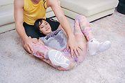 Brunette Uika Hoshikawa gets big cock in her Asian pussy Photo 3