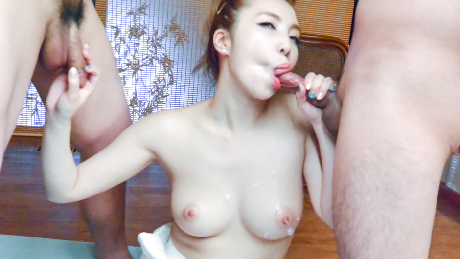 Superb POV romance for Rion Ichijou in threesome