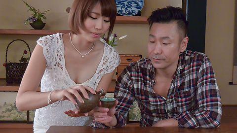 LustfulSeira Matsuokagives top Japan blow job