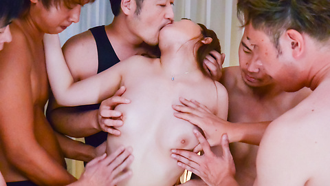 Miu Tsukino - Miu Tsukino fucked with toys in rough gangbang  - Picture 5