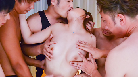 Miu Tsukino - Miu Tsukino fucked with toys in rough gangbang  - Picture 6