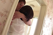 Asian milf severe sex with younger man on cam  Photo 1