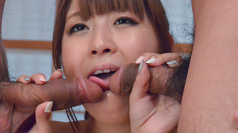 Hitomi Kitagawa - SexyHitomi Kitagawa enjoys Japanese creampie show - Picture 11