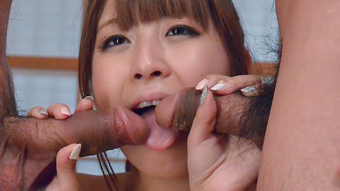 Hitomi Kitagawa - SexyHitomi Kitagawa enjoys Japanese creampie show - Picture 12