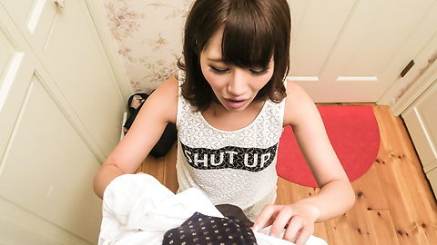 Konoha Kasukabe - Sexy Konoha Kasukabe gives Asian blow job in POV  - Picture 9