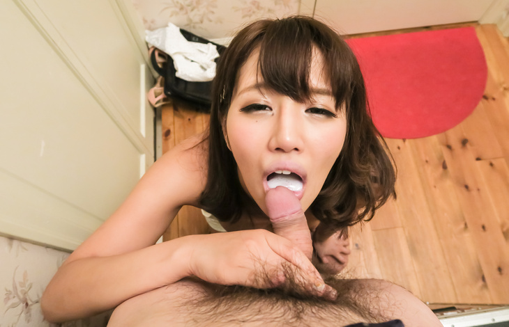 Hot Konoha Kasukabe sucks dick in perfect POV  nude japanese girls, asian hardcore, japanese girls