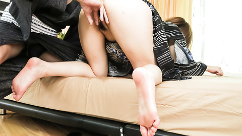Honoka Orihara - Honoka Orihara fucked hard after a superb Japanese blowjob - Picture 3